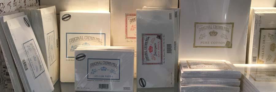 Original Crown Mill - Briefpapier