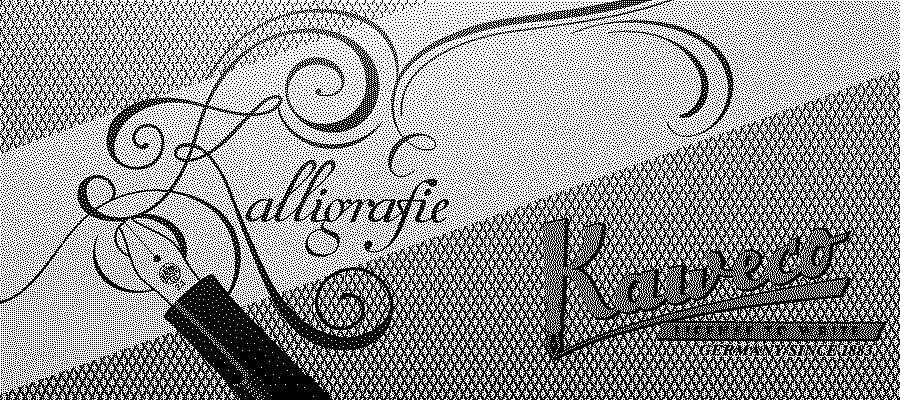 Kaweco - Kallegrafie