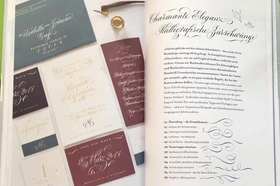 Spitzfeder-Kalligrafie - Stile