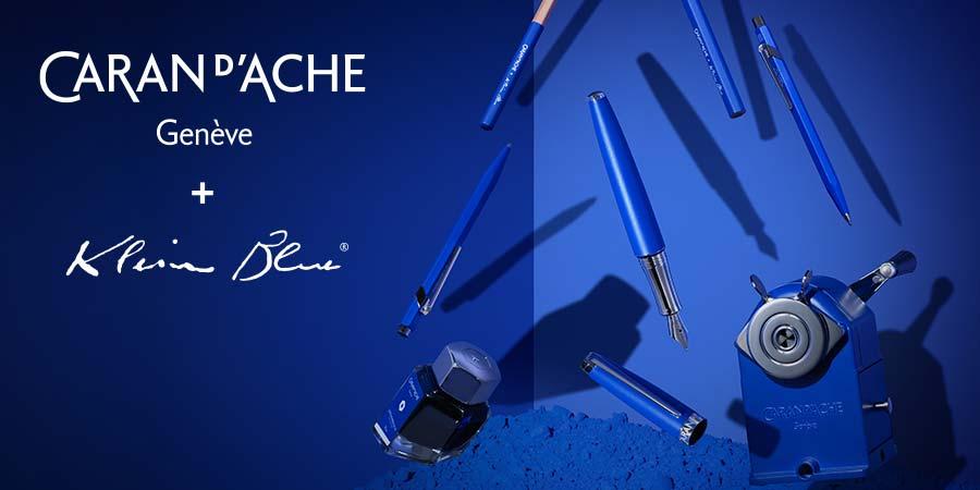 Caran d'Ache - Limitiert - Klein Blau - alle Schreibgeräte