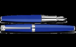 Caran d'Ache - Limitiert - Klein Blau - Leman Füllhalter