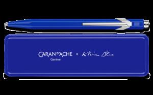 Caran d'Ache - Limitiert - Klein Blau - 849 Kugelschreiber